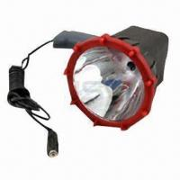 Buy cheap HID Handled Search Light with 35W Power, 3200lm Luminous Flux and 10 to 16V DC Input Voltage from wholesalers