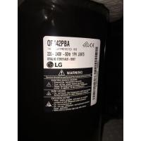 Buy cheap LG Enclosed Commercial AC Rotary Compressor , Refrigeration Scroll Compressor QP442PBA from wholesalers