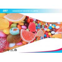 Buy cheap Multi Color Curved LED Screen Curtain Wall Large Wide View Angle 160° from wholesalers