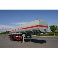 Buy cheap 21400L 2x13T Fuwa Axles Stainless Steel Tanker Trailers / Petroleum Tank Trailers from wholesalers