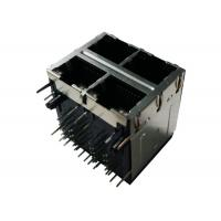Buy cheap ARJM22A1-A12-AA-EW2 Stacked 2x2 Port Magjack 8P8C Rj45 Shielded 10/100 Base - T from wholesalers