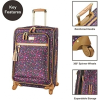 Buy cheap 4 Piece Softside Expandable Lightweight Spinner Suitcase Set from wholesalers