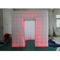 Wholesale Outdoor Inflatable Photo Booth Double Triple Stitches Customized Color from china suppliers