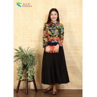 Buy cheap Breathable Ladies Cotton Clothing Modified Vintage Cheongsam Shirt Double Layer Quilting from wholesalers