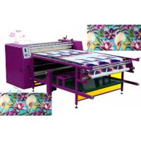 Buy cheap sublimation calender thermal heat press print machine for fabrics garments from wholesalers