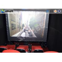 Buy cheap Electronic System Motion Theater Seats Equip Snow Rain Bubble Lightning ETC product