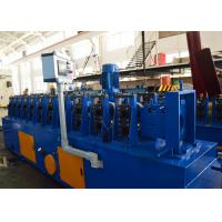 Buy cheap 1.5-2.0mm Galvanized Steel Upright Angle Roll Forming Machine 5-10m/min Speed from wholesalers
