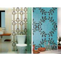 Buy cheap Bathroom mosaic tile recycled glass mosaic pattern customized size and design from wholesalers