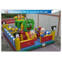 Buy cheap Kids Inflatable Amusement Park Equipment , Inflatable Fun City For Toddlers from wholesalers