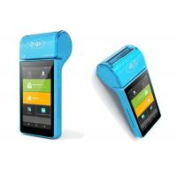 Buy cheap Mobile POS Credit Card Machine With Thermal Printer / NFC Magnetic Card Reader from wholesalers