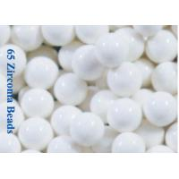 Buy cheap 65% ZrO2 Zirconia Beads Milling Media Zirconium Silicate Beads For Titanium Dioxide , Ink , Paint from wholesalers