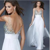 Sexy Deep V Neck Evening Party Dresses, women long prom dresses LXLSQ-1149 Manufactures