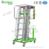 Buy cheap 4.6m Platform Height 125kg Load Capacity Manual Winch Elevating Work Platform from wholesalers