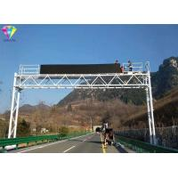 Buy cheap DIPLED Led Highway Signs P31.25mm Tri-Color / Full Color For Highway Messaging from wholesalers