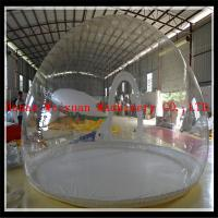 Buy cheap Xmas decoration with antique advertising inflatable christmas human snow globe from wholesalers