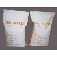 Buy cheap High Pure Zinc Acetate Dihydrate / Zinc Acetate Dehydrate Technical grade from wholesalers