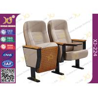 Buy cheap Fixing Leg Damper Return Auditorium Auditorium Chairs , Movie Theatre Chairs from wholesalers