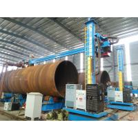 China Cylinder Welding Turning Rolls , Heavy Duty Pipe Rotators for Welding on sale
