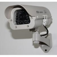 Buy cheap Indoor/Outdoor Mock Security Plastic Bullet Cameras with LED light DRA42B from wholesalers