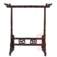 Buy cheap Chinese calligraphy brush pen holder brush pen stand wooden pen rack stand pen kits from wholesalers