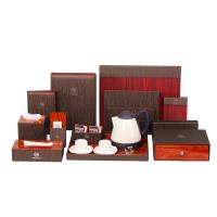 Buy cheap Free sample Guest service folder guestroom leatherette set from wholesalers