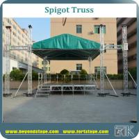 Buy cheap Large event truss/spigot truss with aluminum stage/stage truss system/roof truss for tv show /performance stage truss from wholesalers