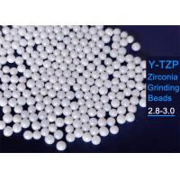 Buy cheap Ultra Fine 0.1mm Stabilized Zirconia Grinding Beads Sphere Shape For Ink Milling from wholesalers