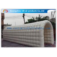 Buy cheap Open Air Inflatable Tunnel Tent Inflatable Sports Dome Durable PVC Wire Stitching from wholesalers