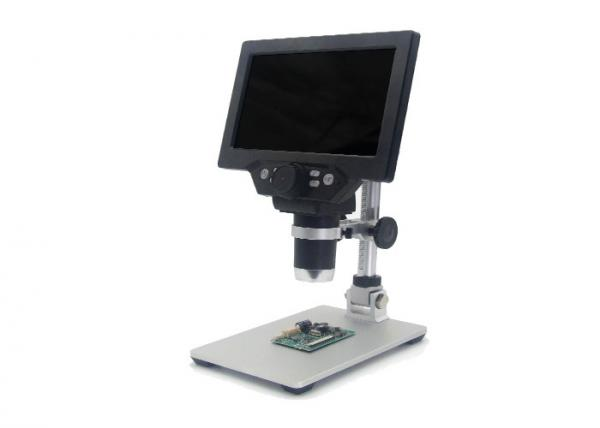 Buy cheap 7 Inch LCD Microscope with 12MP resolution 1-1200X magnification from wholesalers