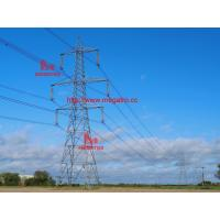 Buy cheap 500KV DC tangent tower with single earth wire,500kv lattice tower,power supply from wholesalers