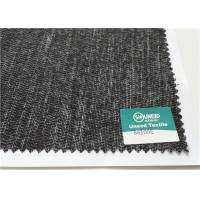 Wholesale B6100E Jackets Fusible Interlining Fabric Powder Dot PES Weft Insert Napping from china suppliers