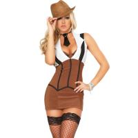 Buy cheap Lady Gangster Costume Adult Costumes for Carnival Christmas Halloween from wholesalers