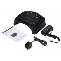 Buy cheap Electric Black 64W Gel Light Nail Dryer Rechargeable Metal Style Led Uv Nail Lamp from wholesalers