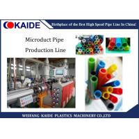 Buy cheap Silicon Core Tube Extrusion Machine , Micro Duct Plastic Pipe Production Line 5mm-18mm from wholesalers