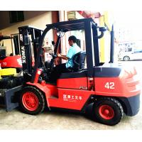 Buy cheap 2/3 Stage Mast Diesel Forklift Truck 4.2 Ton Loading Japanese Engine from wholesalers