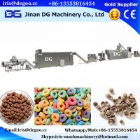 Buy cheap China factory making corn flakes breakfast cereal making machinery/manufacturing equipment/process plant hot sale price from wholesalers