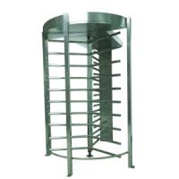 RS232 IC Cards Full Height Turnstile with Door Access Control for Office Building CE OEM Manufactures