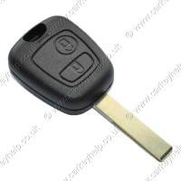 Buy cheap made of engineering plastics+brass peugeot replacement remote keys shell from wholesalers