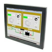 Buy cheap 12.1-inch LCD Monitor with Resistive Touch, Remote Control 4:3 for Industrial product