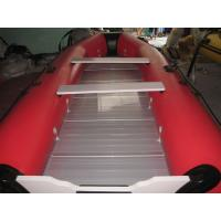 Buy cheap PVC aluminum flat bottom sport boat/pvc inflatable boat with aluminum floor from wholesalers