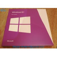 Buy cheap All Languages Windows 8.1 Professional OEM Key Upgrade Download Retail Full Version 32 / 64 Bit from wholesalers