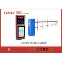 Wholesale 1.5S 3s 5s traffic barrier gate , car park barrier system with straight fence folding boom from china suppliers