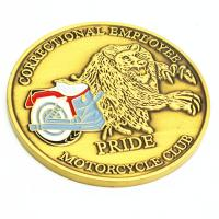 Buy cheap USA hot sale gold plated metal challenge coin from wholesalers