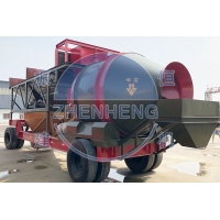 Wholesale Industrial Automatic Mobile 75m3 Ready Mixed Concrete Batching Plant YHZM75 from china suppliers