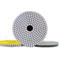 Buy cheap High Efficiency Diamond Polishing Pads , 4 Inch 3 Step Diamond Granite Polishing Pads from wholesalers
