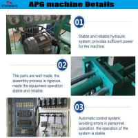 Buy cheap high efficiency apg epoxy resin clamping machine for high current bushings from wholesalers