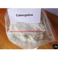 Buy cheap High Purity White Anti Estrogen Steroids Powder Cabergoline for Muscle Gaining from wholesalers