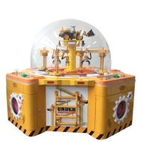 Buy cheap Family Toy Claw Crane Prize Game Machine Coin Operated For Kids 650W from wholesalers