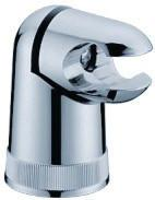 Buy cheap Chrome Finished Brass Hand Shower Bracket , Shower Faucet Component from wholesalers