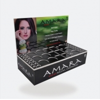 Buy cheap Cardboard Corrugated POS 300G CCNB Cosmetic Counter Display from wholesalers